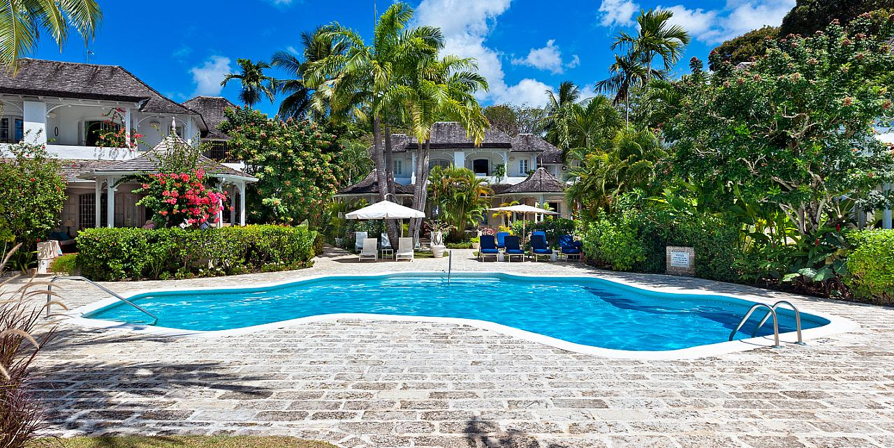 Barbados, Emerald Beach Apartment No.1 - Communal Pool