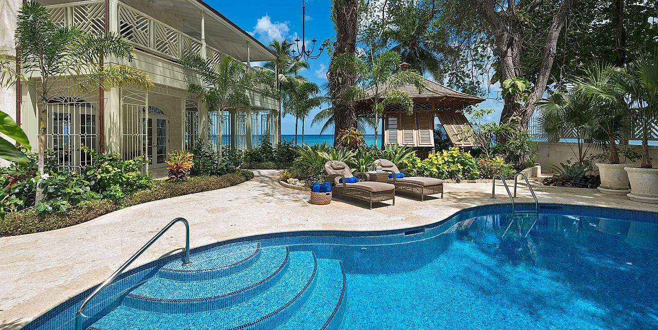 Barbados, Hemingway House - Pool