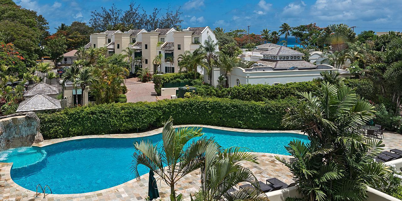 Barbados Mullins Bay Villa Coco - Communal Pool