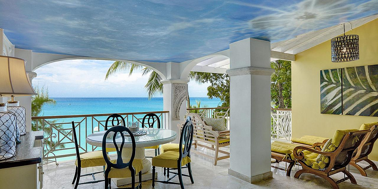 Old Trees 204 Paynes Bay Barbados 3 bedroom beachfront apartment